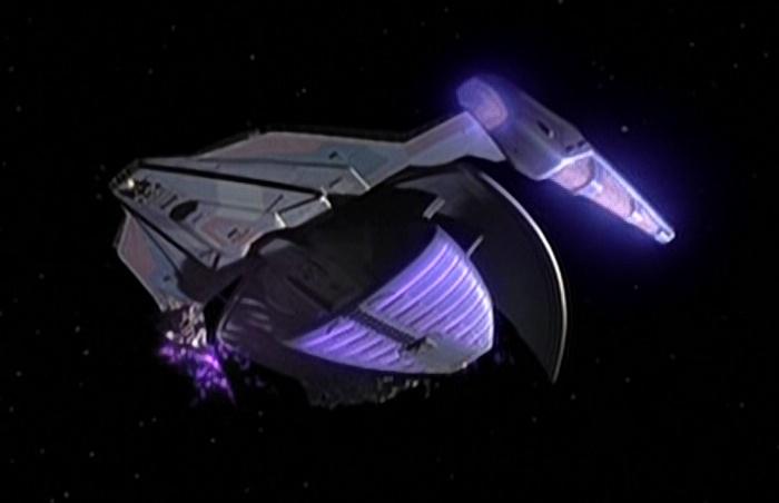Weyoun's attack ship