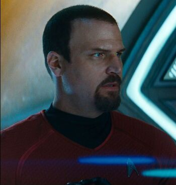 ...as Hendorff in <i>Star Trek Into Darkness</i>