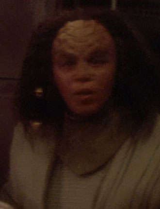 ... as a Klingon bar patron