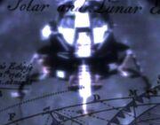 Lunar Module above Luna