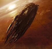 Narada over Vulcan