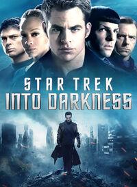Star Trek Into Darkness DVD Region 1 cover