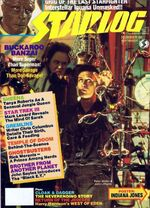 Starlog issue 086 cover