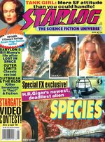 Starlog issue 214 cover