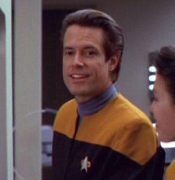 ... as a <i>Voyager</i> officer