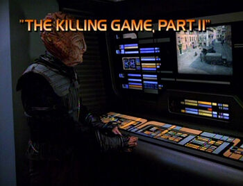 The Killing Game, Part II title card