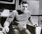 Christopher Pike (noir & blanc)