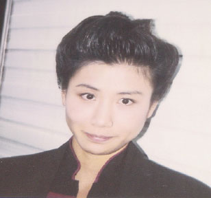 "...as Hamada on a makeup continuity polaroid for ""Parallels"""
