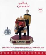 Hallmark 2017 Picard + Data