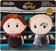 Hallmark 2019 Seven of Nine and Capt Janeway Itty Bittys