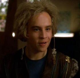 Jeffrey in Klingon attire