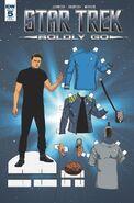 Star Trek Boldly Go, Issue 5 RI-B