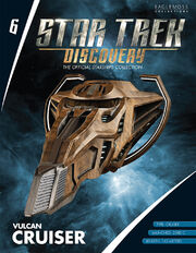 Star Trek Discovery Starships Collection issue 6