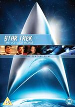 Star Trek IV The Voyage Home 2009 DVD cover Region 2