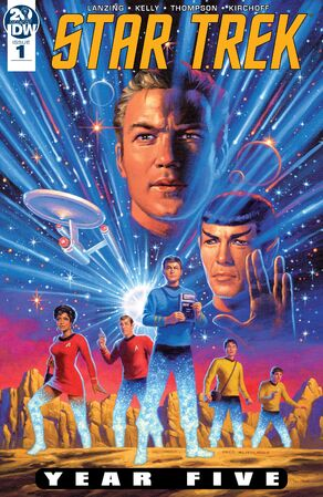 Star Trek Year Five issue 1 cover A.jpg
