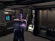 Tuvok injured by the Ba'Neth