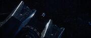 Cabot escape shuttlecraft