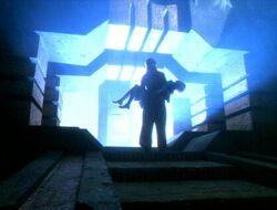Janeway & kes sacred ground