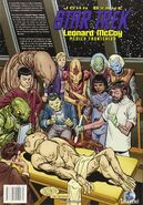 Leonard McCoy Frontier Doctor back cover (es)