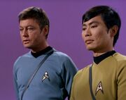 McCoy and Sulu