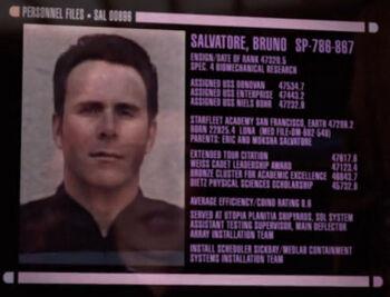 Salvatore Bruno's service record image