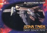 Star Trek Deep Space Nine - Season One Card073