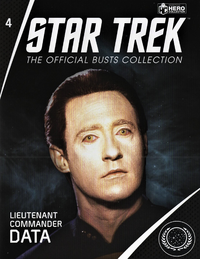 Star Trek Official Busts Collection issue 4