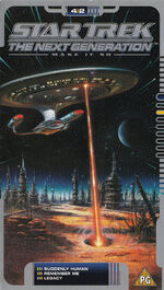 TNG 4.2 UK VHS cover