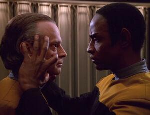 Tuvok melds with Suder