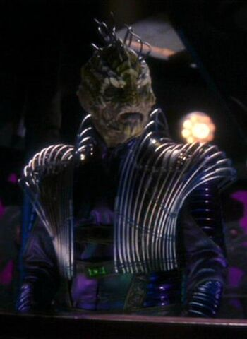 ...as a Xindi-Reptilian soldier