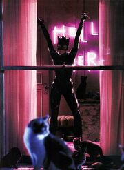 Selina becoming Catwoman
