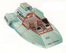 Type 18 shuttlepod interior