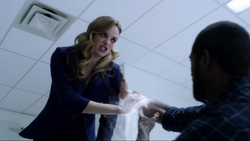 Caitlin almost kills Nigel