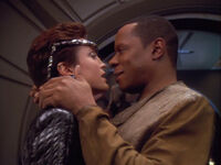 Intendant Kira and Sisko