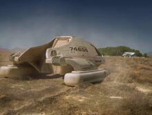 Type 9 shuttle crash-landed in Arizona