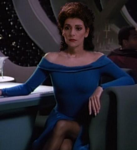 Hots Nude Star Trek Counselor Troy Scenes