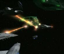 USS Prometheus, multi-vector assault mode attack