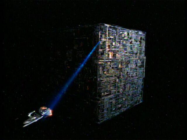 File:Borg cube destroys the Melbourne.jpg