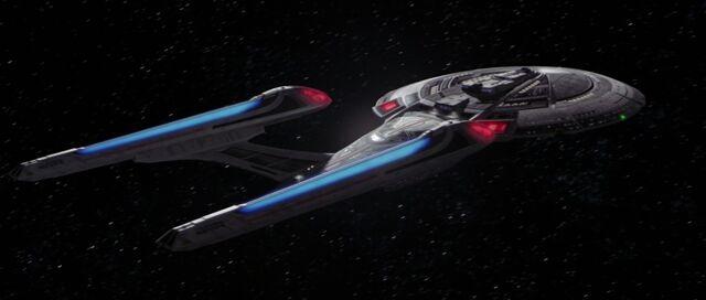 File:USS Enterprise-E, aft.jpg