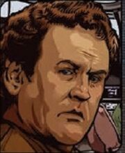 Miles O'Brien, the Q Gambit