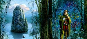 Michael whelan fantasy the stone of farewell