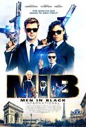 MIB Int Paris Poster