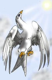 Caladrius the Healing Bird by Penguwings9