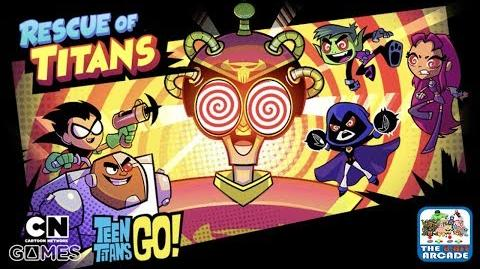 Teen Titans Go: Rescue of Titans