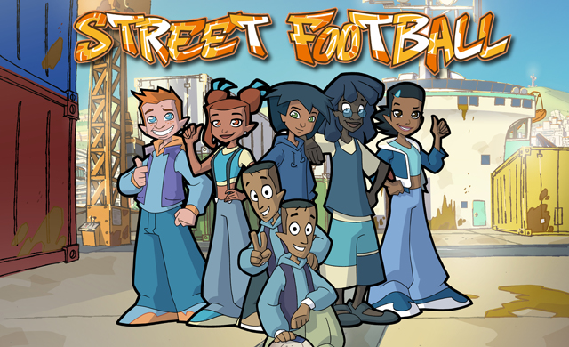 Street Football Also Know As Foot  Rue In French Is A French Italian Animated Television Series Made By Cofinova  Marathon Productions