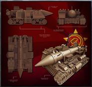 MO3 Render Scud Launcher