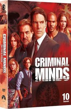 Criminal Minds Season 10 DVD Cover
