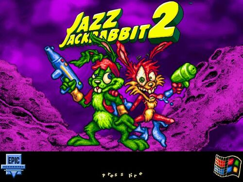 Jazz Jackrabbit 2 logo