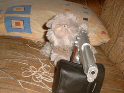 Мяунжик с пистолетом