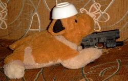 Бобик-террорист разбушевался